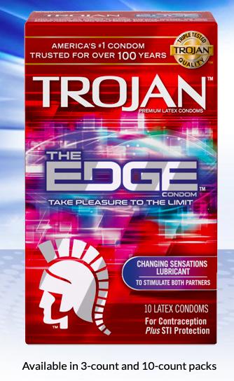 The Edge Condom by Trojan